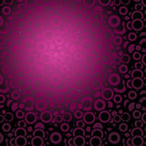 Lot of circles - violet background Stock Image