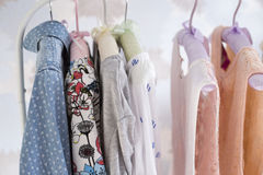 A lot of clothes. Do not happen Stock Photo