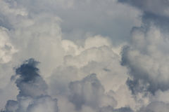 A lot of clouds Royalty Free Stock Photos