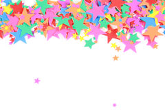 A lot of  color stars Royalty Free Stock Photography
