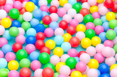 A lot of coloured plastic balls Royalty Free Stock Photography