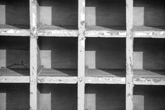 A lot of concrete square shape stock photo