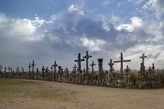 A lot of crosses Royalty Free Stock Image