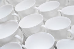 Lot of cups Royalty Free Stock Photo