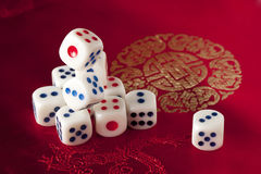 A lot of dice Stock Photos