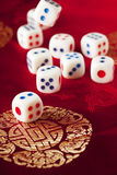 A lot of dice Stock Photo