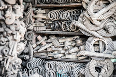 A lot of different auto spare parts. Stock Photography