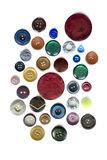 Buttons on white Royalty Free Stock Image