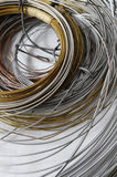 Lot of Different Metal Wire Stock Photos