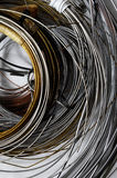 Lot of Different Metal Wire Royalty Free Stock Photo