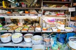 Food street stand Stock Photos