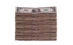 Lot of dollar notes Stock Photos