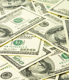 A lot of dollars Royalty Free Stock Photo