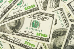 A lot of dollars royalty free stock image