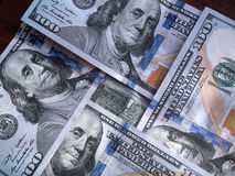 Lot of dollars. A lof of american dollars new simple Royalty Free Stock Images