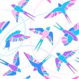 Lot dymówki - mozaika wzór Fotografia Royalty Free