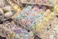 Lot of easter eggs Royalty Free Stock Photography