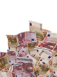 Lot of euro banknote background Royalty Free Stock Image