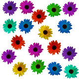 It is a lot of flowers Stock Images