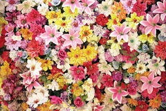 Lot of flowers Stock Photography