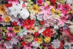 Lot of flowers Stock Images