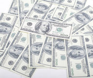 Lot fo americans dollars cash background, diverse money worldwide Stock Photography