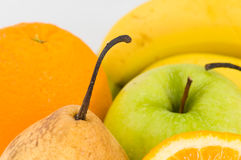 Lot of fresh fruits. Color Stock Photos