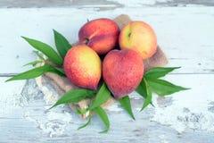 Lot of fresh peach Stock Image