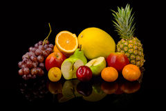 Lot of fruits Royalty Free Stock Images