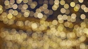 A lot of garlands. stock footage
