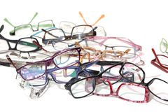 A lot of glasses Royalty Free Stock Photography