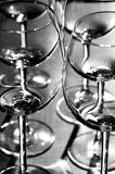Lot of glasses Royalty Free Stock Photo