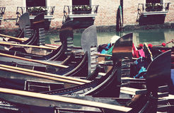 A lot of gondola Stock Images