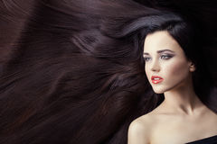 Lot of hair in women. Stock Images