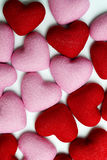 A lot of hearts. Royalty Free Stock Images