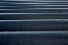 Lot of industrial pipe. Sorted Royalty Free Stock Images