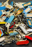 A lot of keys Stock Photo