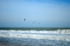 A lot of kites in the sky Stock Photography