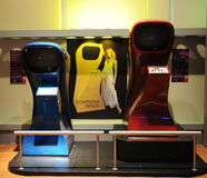 Lot Kosmiczny symulaci arkady gra, Retro rozrywka, roczników przedmioty Zdjęcia Royalty Free