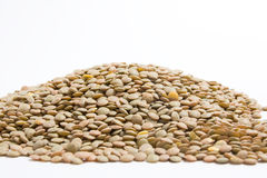 Lot of lentils Royalty Free Stock Photography