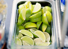 A lot of lime for cocktail Royalty Free Stock Photos