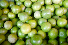 A lot of limes. At the market Stock Photos