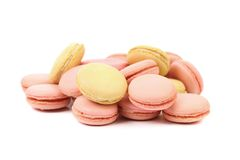 Lot of macaron cakes Stock Photography