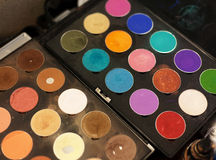 Make up colors Stock Photography