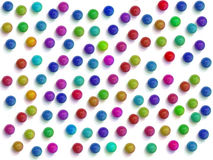 A LOT of Marbles. Digital composition of a lot of colorful marbles royalty free stock images