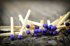 A lot of matchstick Stock Photography