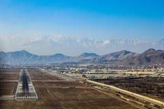 Lot między Kabul i Jalalabad w 2018 obraz royalty free