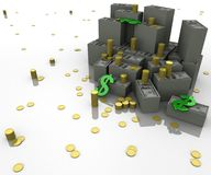 A lot of money Stock Images