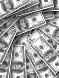 A lot of money. A lot of real money Royalty Free Stock Images