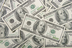 A lot of money (U.S. dollars) Royalty Free Stock Image